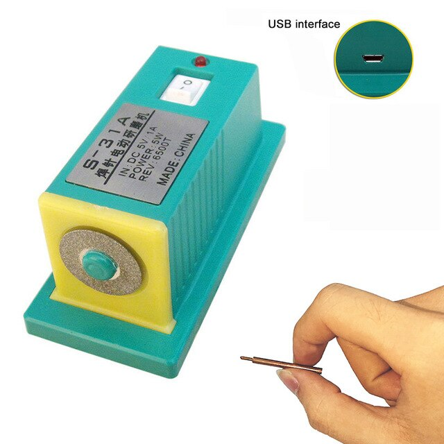 S-31 S-31A Mini electric grinding machine battery spot welder needle grinding welding needle welding tips dressing grinder tools