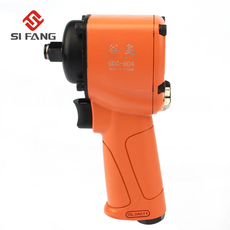 SI FASNG 1/2 Inch Air Impact Wrench Max Torque 500ft/lb Pistol Grip Car Repairing Impact Wrench Cars Wrenches Tools