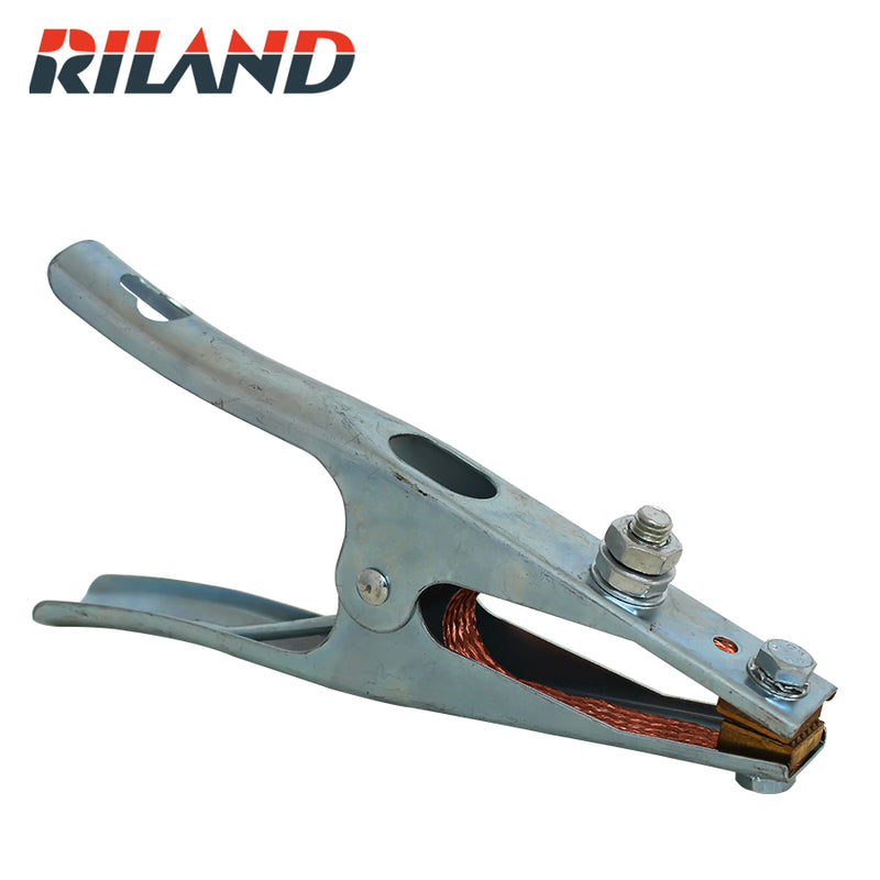 RILAND  500A Earth Clamp  Spring Loaded Ground Clamp for Welding Machines