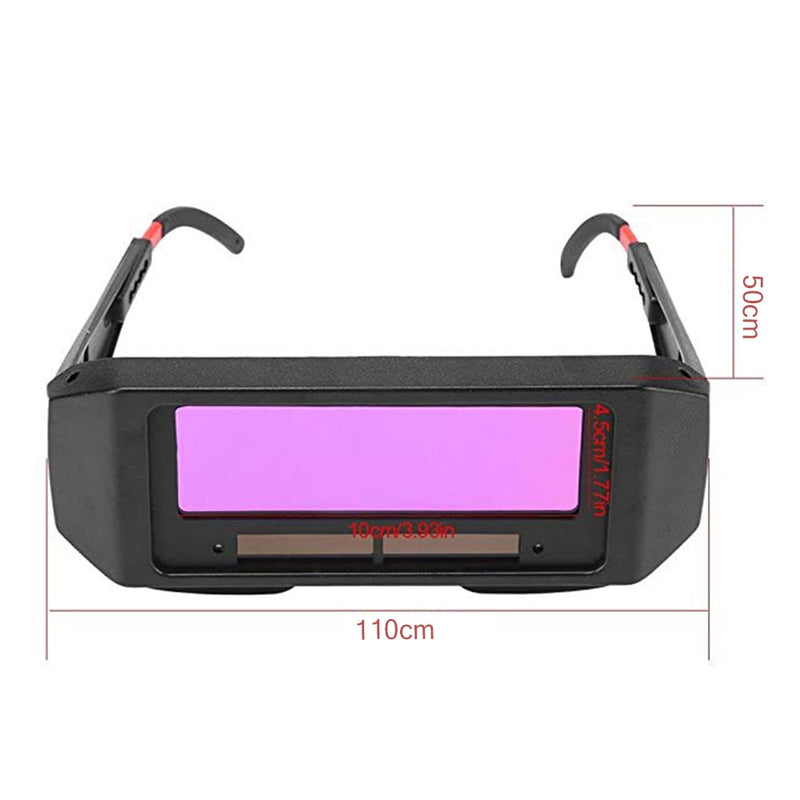 Automatically become light welding glasses welder antiglare burn welding argon arc welding weld uv protective goggles