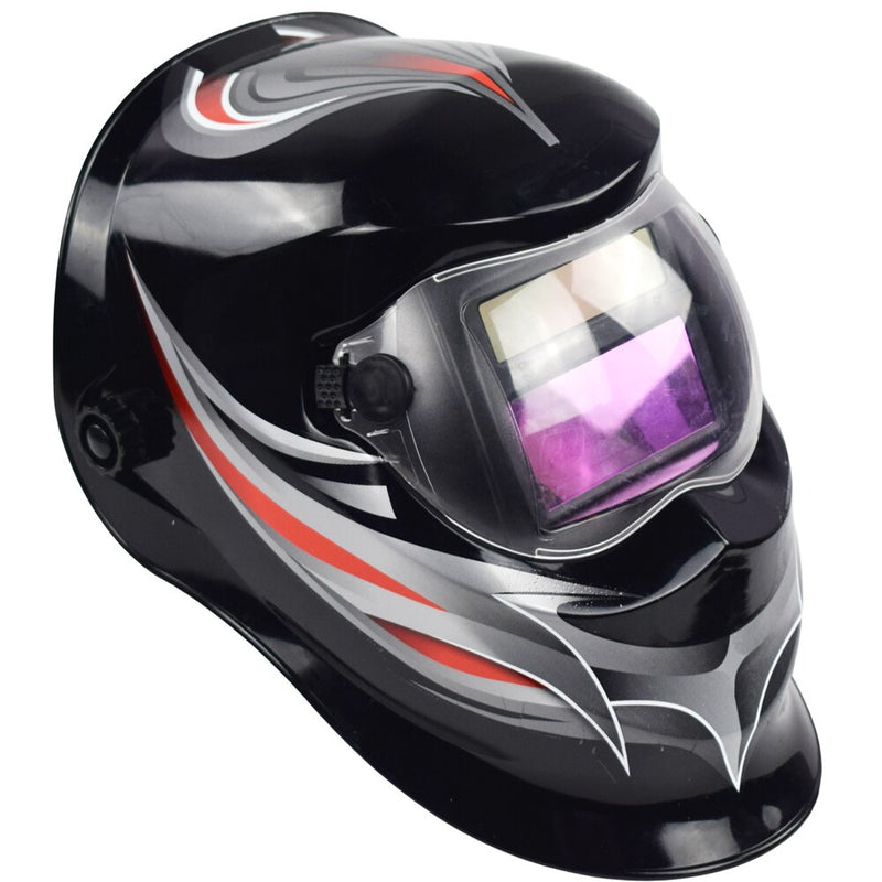 Welding helmet automatic replacement welding mask head with welder welding mask TIG mask -110 black color bar