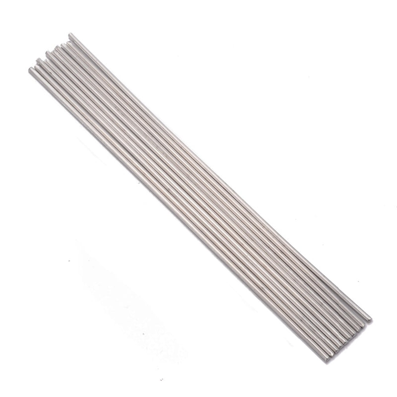 10pcs 230mm Length Aluminium Welding Rods 3.2mm Diameter Low Temperature Brazing Rod For Repair Tools Accessories