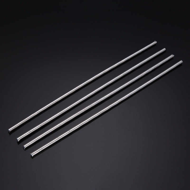 4pcs Silver Aluminum Welding Electrodes Flux Cored Low Temperature Brazing Wire 4x230mm Repairing Welding Soldering Rods