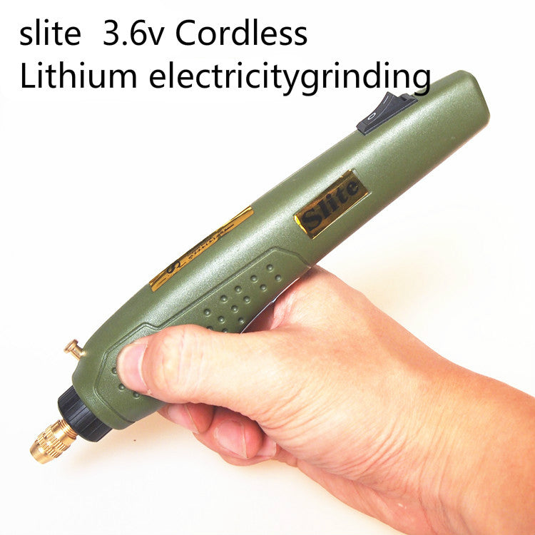 slite P-500-11A 3.6V Lithium electricity Rechargeable Engraving Pen Micro Grinder Mini drill wireless Electric grinding DIY tool