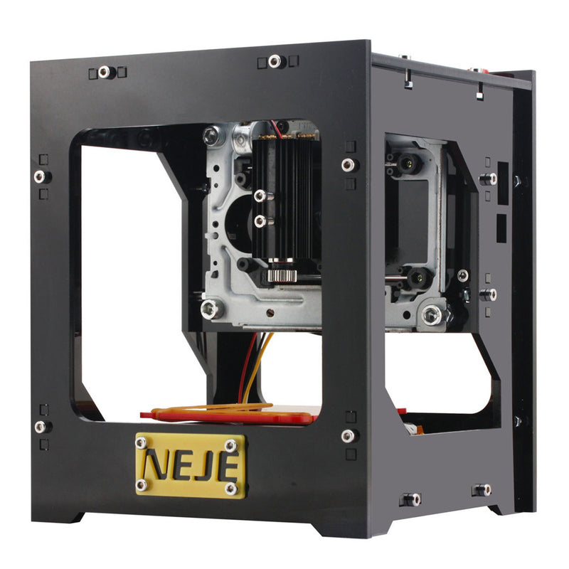 NEJE 1000mW High Speed Mini USB Laser Engraver Automatic DIY Print Engraving Machine Off-line Operation with Protective Glasses