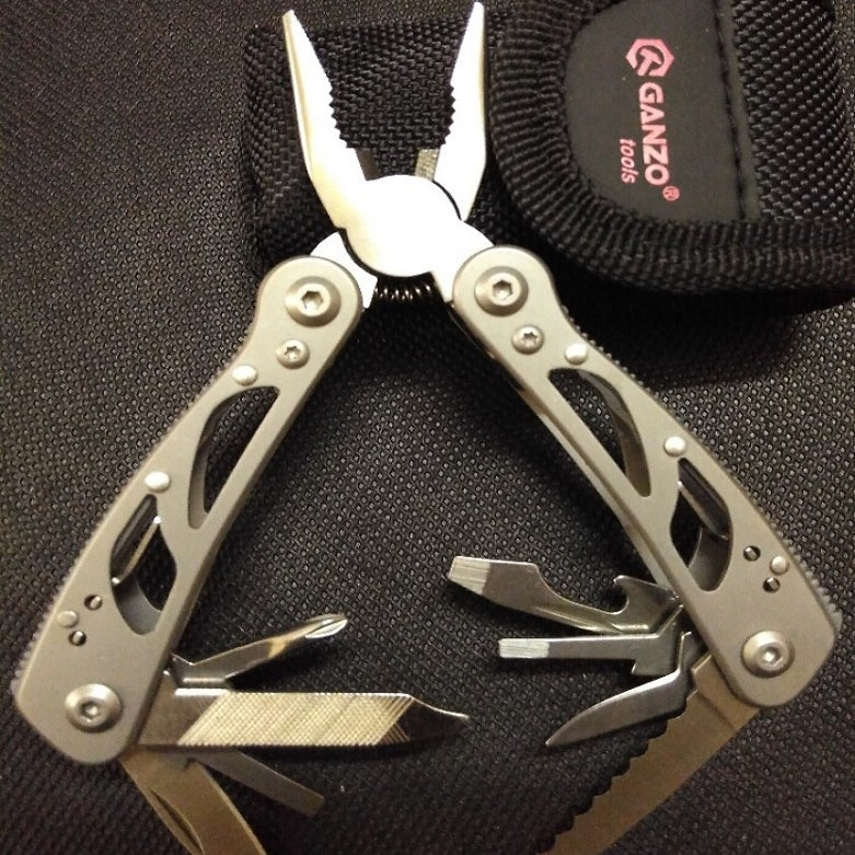 Ganzo G104-S G104S 2015S  multifunctional folding Mini Multi Pliers Pocket EDC Camping Tool