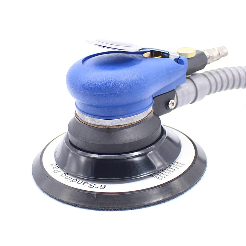 "Wholesale 6 Inches air Sander with Vacuum 150mm Pneumatic Sander 6"" Air Sanding Machine Pneumatic Tools"