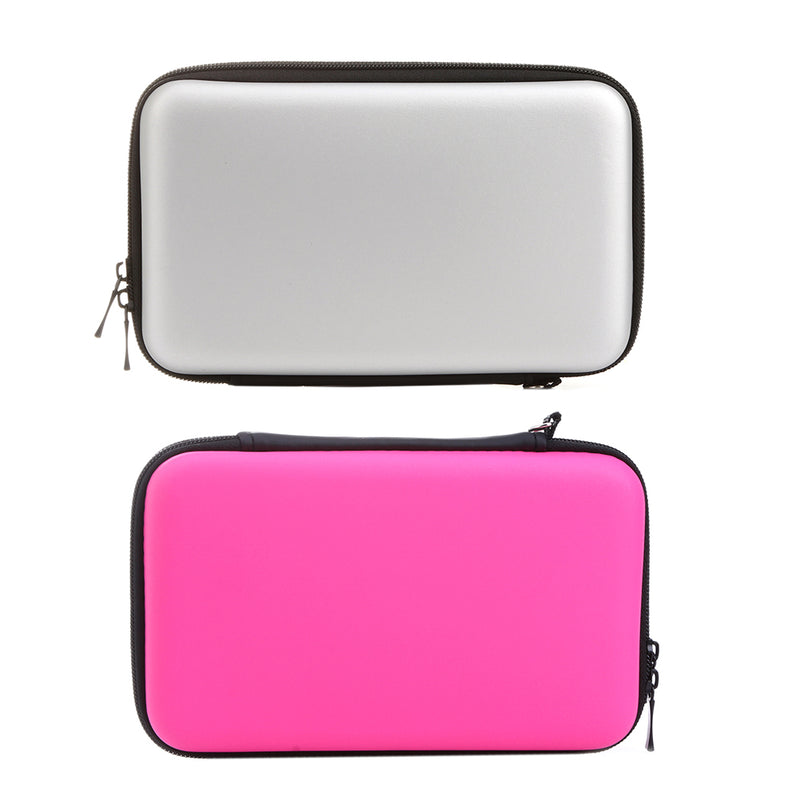 New Arrive EVA Skin Hard Case Bag Carry Pouch Storage Travel Case Cover For Nintendo 3DS LL Tool Bag Protective Storage Cases