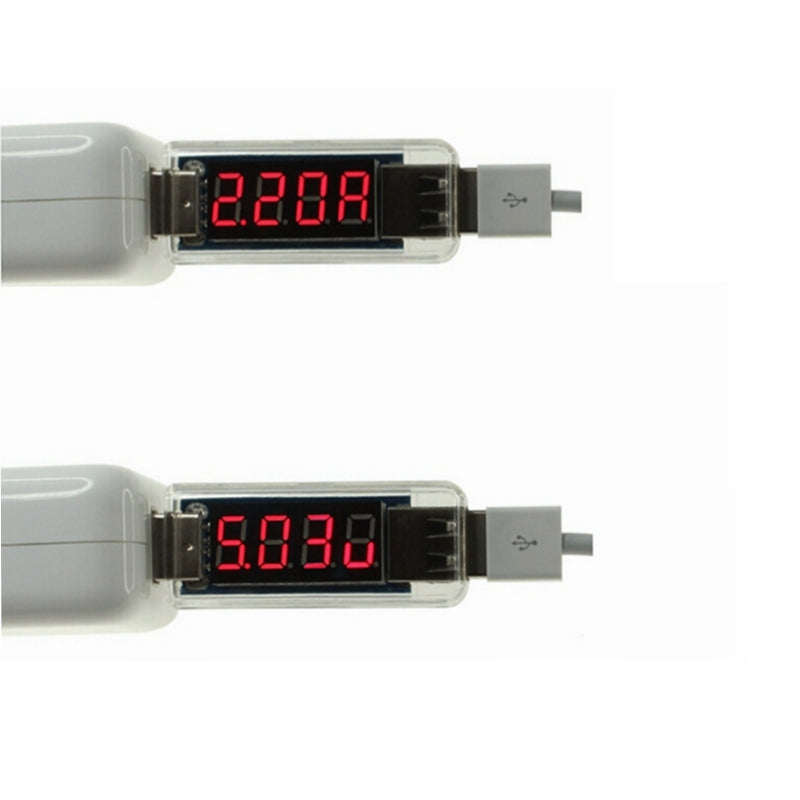 mini USB Voltage Current tester USB Voltmeter Ammeter Phone tablet charging detector volt ampere meter