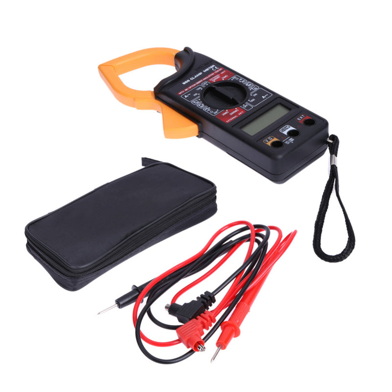Digital Voltmeter Ammeter Ohmmeter Multimeter Volt AC DC Tester Clamp Meter Digital Meter Test Lead