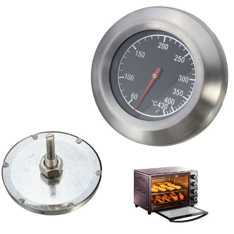 High Quality Barbecue BBQ Smoker Grill Stainless Steel Thermometer Temperature Gauge 60-430