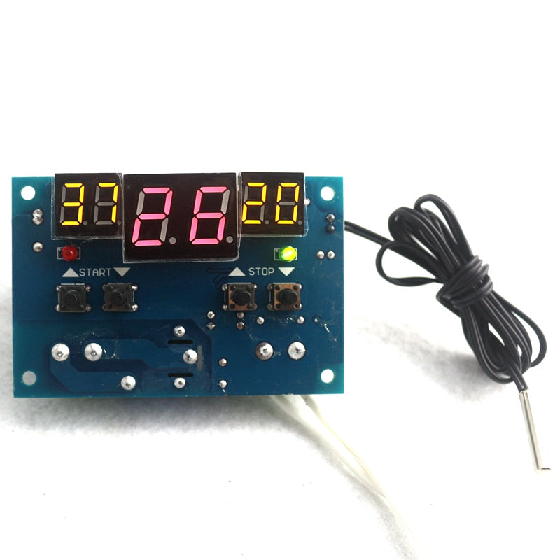DC 12V  Intelligent Termostato Digital Thermostat Temperature Controller Regulator with NTC Sensor W1401