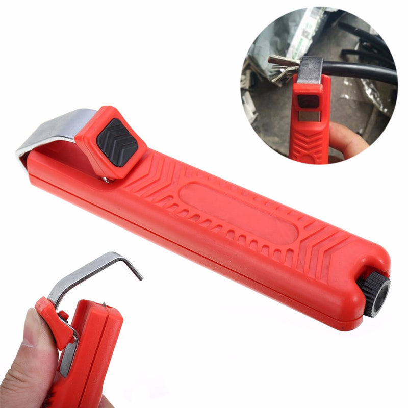 1pc Mayitr LY25-2 Wire Stripper Cutter Cable Plier Stripping Crimping Tool For PVC Rubber Cable