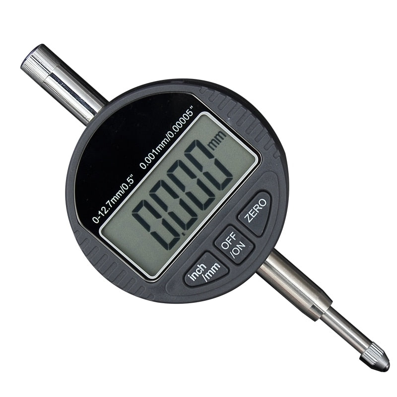 "12.7mm 0.5"" Electronic Micrometer 0.001mm Digital Micrometer Gauge Meter Metric/Inch Dial Gauge Tools With RS232 Data Output"