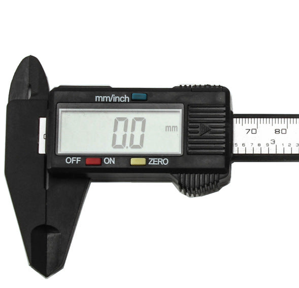 150mm 6 inch LCD Digital Electronic Carbon Fiber Vernier Caliper Gauge Micrometer Measuring Tool Caliper Ruler Digital Calipers