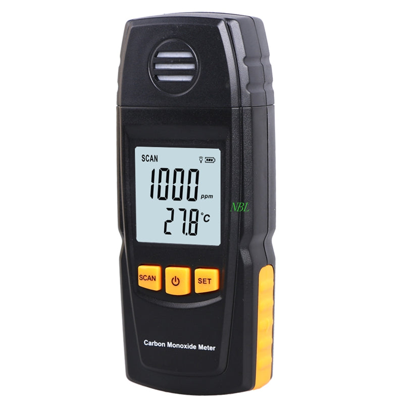 Handheld Carbon Monoxide CO Monitor Detector Meter 0-1000ppm Carbon Monoxide Gas Leak Tester With Package