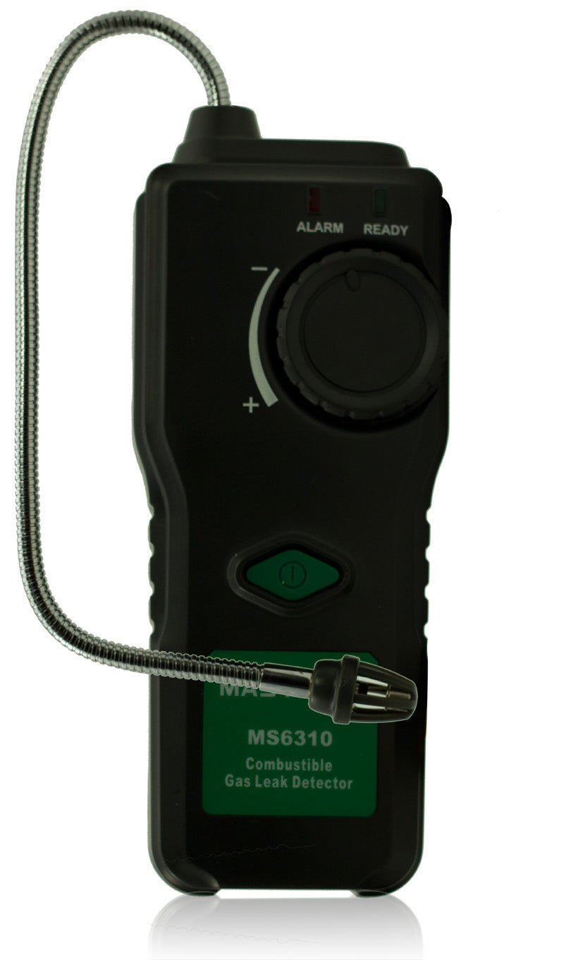 MASTECH MS6310 Portable Combustible Gas Leak Detector Tester Propane Natural Gas Analyzer With Sound Light Alarm