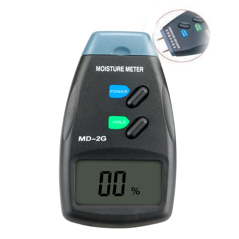 MD-2G LCD Digital Moisture Wood Meter digital tester pin tester moisture meter