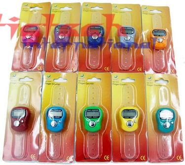 by dhl or ems 1000 pcs Stitch Marker And Row Finger Counter LCD Electronic Digital Tally Counter Brand New