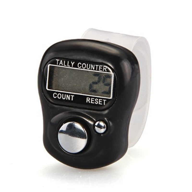 New Arrival Hotsale Finger Ring Digital Tally Counter Clicker Timer