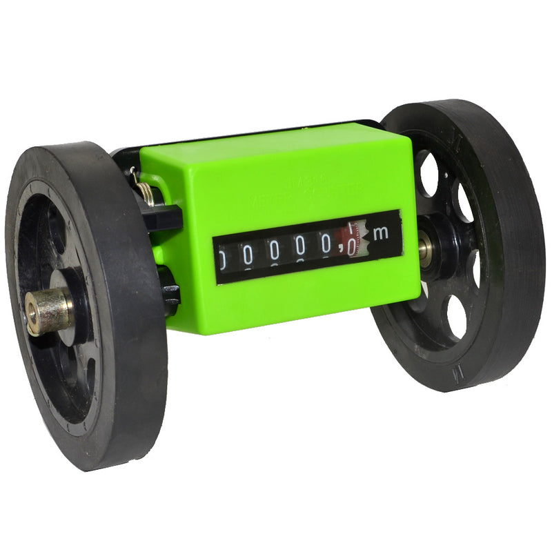2pcs/lot New Meter Counter Rolling Wheel Mechanical Length Counter Free Shipping with Track Number 10001213