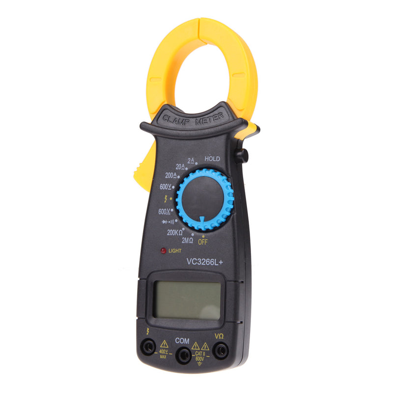 Portable LCD Digital Clamp Multimeter Electronic Ammeter Voltmeter AC DC Voltage Current Tester Meter FULI