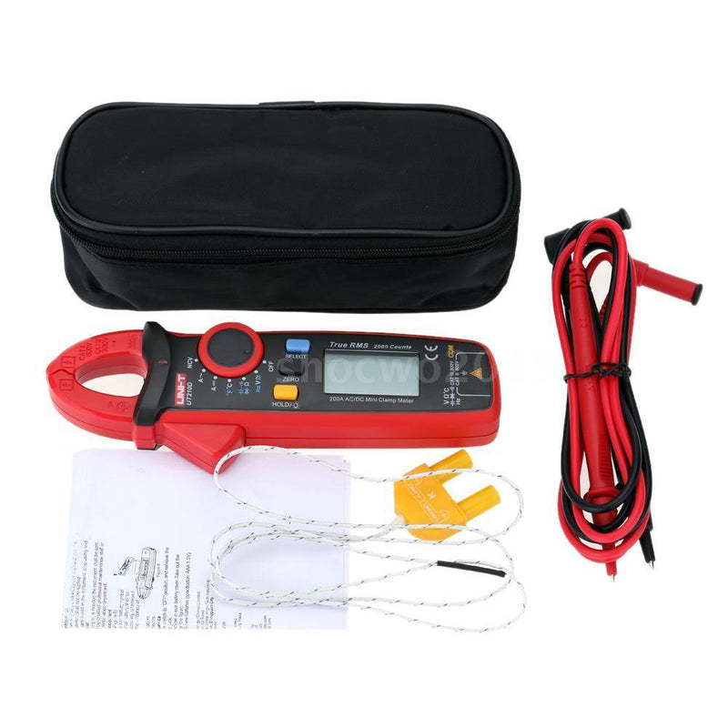 UNI-T UT210D UT-210D Electrical Professional Multifunction True RMS AC Mini Clamp Meters UNIT ut210d