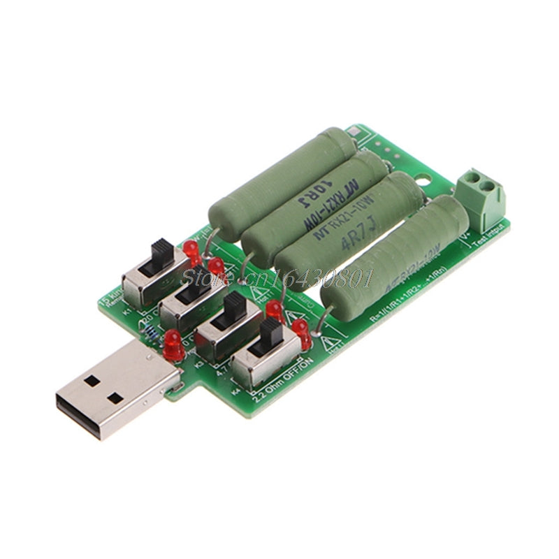 usb dc electronic load High power discharge resistance resistor adjustable 4 kind current industrial battery capacity tester