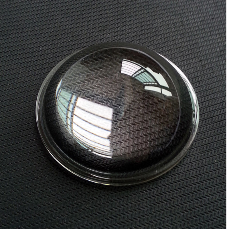 1 Piece Diameter 40mm High Power Led optical lenses Transparent Flashlight Aspheric photics Glass Plano-convex Lens