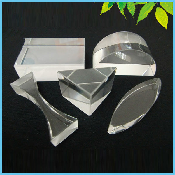 5PCS/LOT Optical Glass Prism Set Educational Prism Set Physics Teaching Light Spectrum Prism