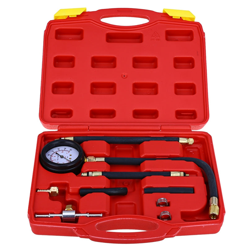 Portable TU-113 Universal Fuel-pressure Indicator Precision Fuel Injection Pump Pressure Test Kit Vehicle Combo Tools Kit