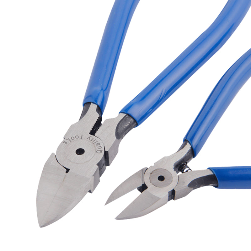 "EVANX Plastic Side Cutters 1pc Cutting Pliers 5""/6""  Diagonal Pliers Electrician Cable Cutter Hand Tools"