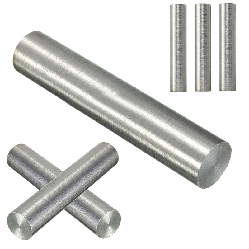 1pc 99.95% Pure Tungsten Metal Rod Round Bar Diameter 10mm Length 50mm For Industry Tool