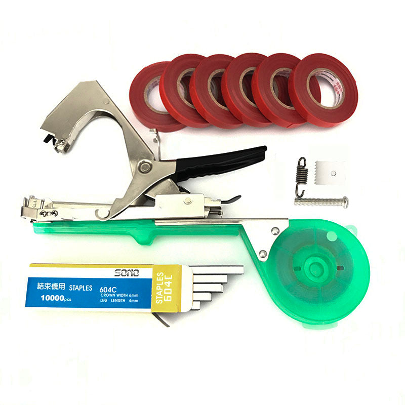 Top Gardening Tools Set Multifunctional Fruit tape Machine garden tools Plant Tying Tapetool Tapener Packing Vegetable's stem