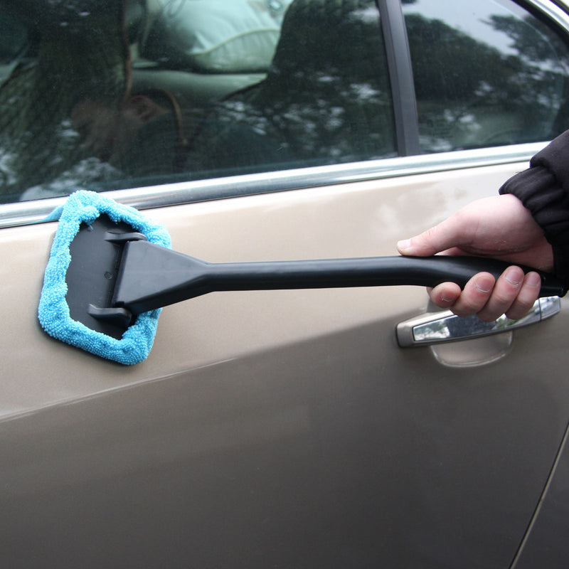 Easy Cleaner Car Window Cleaner Microfiber Auto Window Cleaner Clean Hard-To-Reach Windows On Your Car Or Home