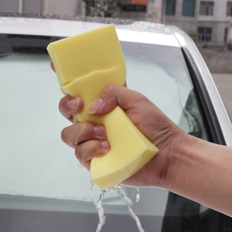 17cm*7*3cm PVA Absorbent Sponge Car Washing Sponge Ultra Soft Auto Supplies Car Cleaning (Random Color)