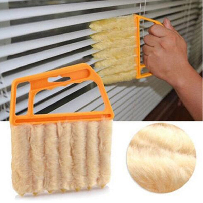 Useful Microfiber Window cleaning Tools brush air Conditioner Duster cleaner with washable venetian blind blade cleaning
