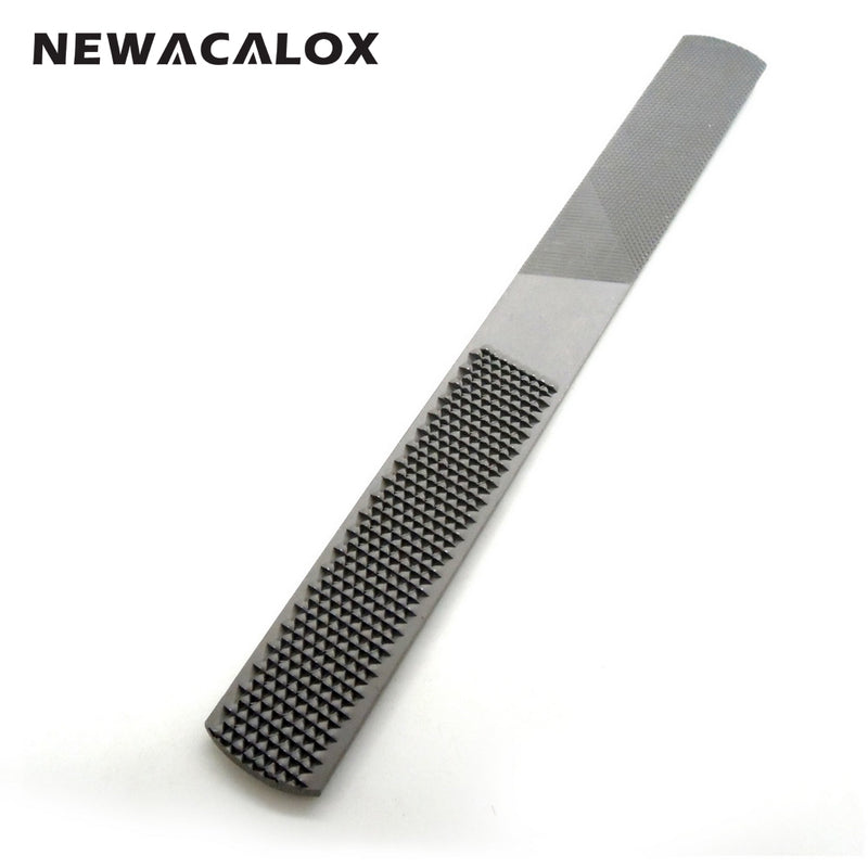 NEWACALOX Mini Set Tools Alloy Square Flat Half Round Filling Needle Microtech Woodworking 4 IN 1 Wood Carving Files Rasp Wooden