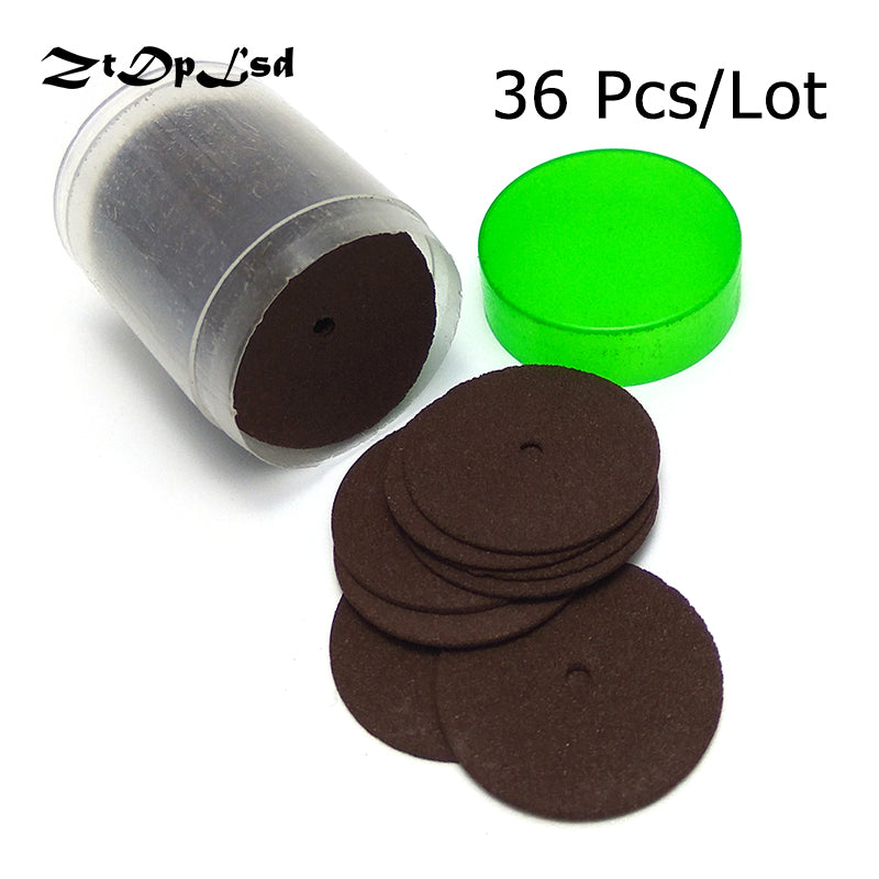 ZtDpLsd 36Pcs 24MM Dremel Accessories Parts Abrasive Cutting Discs Reinforced Cut Off Grinding Wheels Rotary Blade Tool Dremel