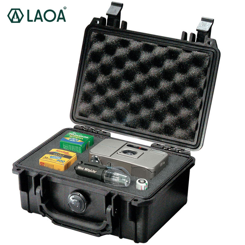 LAOA Safety Instrument Tool Box storage tools Water-proof Box Instrument And Equip Instore With Draw-Bar Without Tools