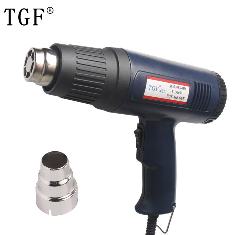 TGF 1000W~1500W Heat Gun Hot Air Gun 220V Dual Temperature Adjustable EU Plug Power Tools