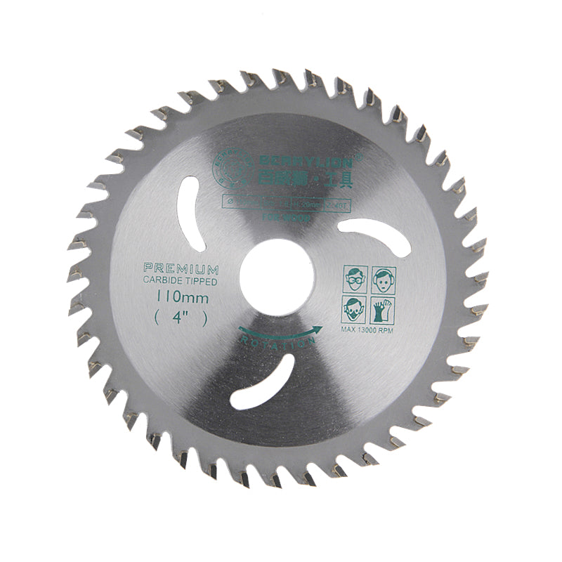 4''/110mm Alloy Steel Circular Saw Blade 30 Teeth/40 Teeth Wheel Discs For Cutting Wood Aluminum Iron Plate Power Tools