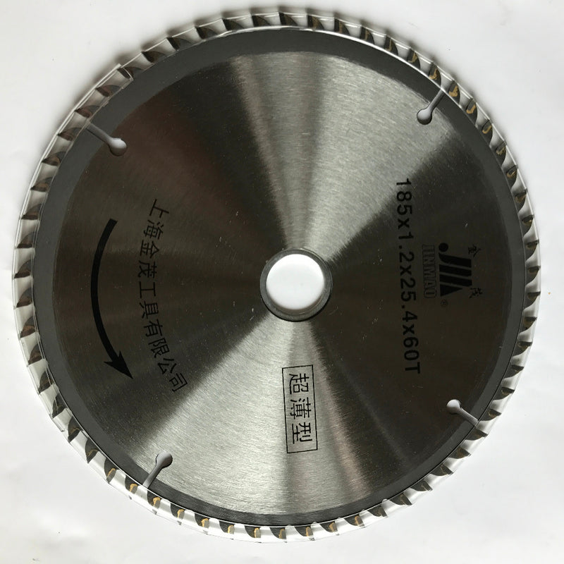 Quality thin kerf 185*1.2*25.4*60T TCT saw blade for thin wood/timber cutting home decoration using