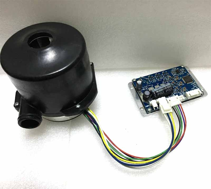 24V 160W Brushless DC Vacuum Cleaner Centrifugal Air blower dc fan seeder blower Dc blower motor Air pump with matched driver