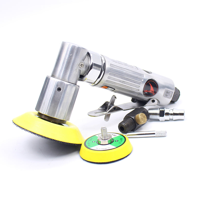 YOUSAILING 2 And 3 Inches Pneumatic Air Polisher Eccentric Polishing Machine Pneumatic Polishers Tools
