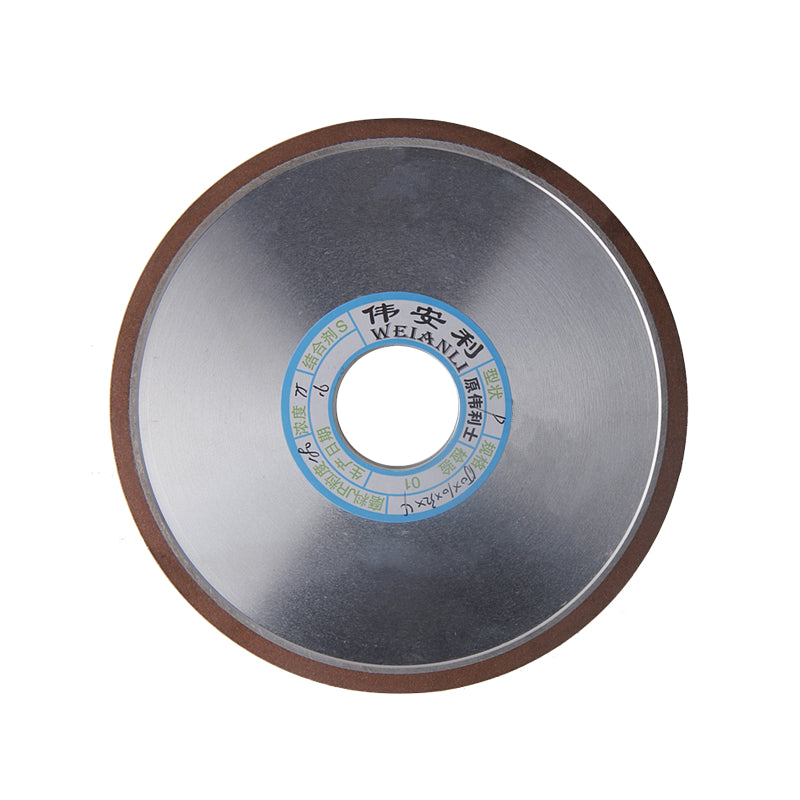 150mm Diamond Grinding Wheel Grinding Disc Saw Blade 150/180/240/320 Grain Mill Sharpening Grinding Wheel Rotary Abrasive Tools