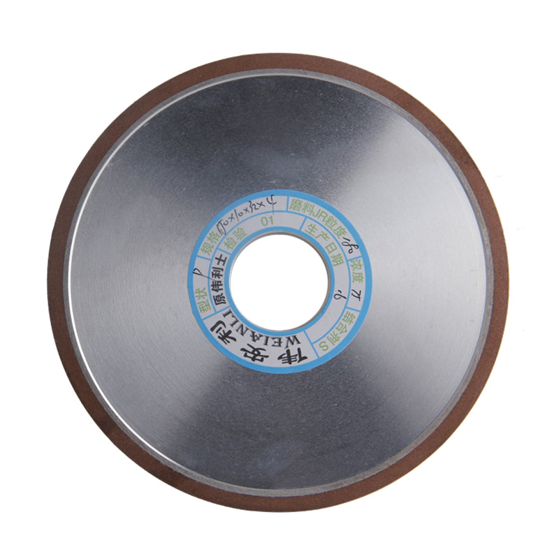 150*10*32*4mm Diamond Grinding Wheel For Carbide 150/180/240/320 Grits Flat-Shaped Grinding Dish Wheels Power Tool Accessories