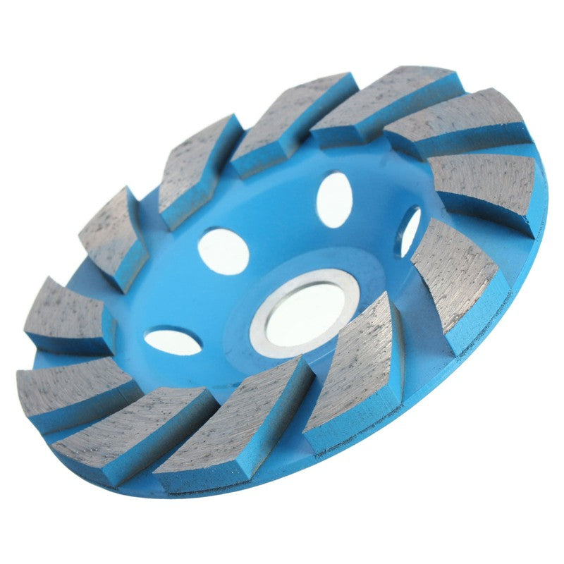 Newest 1PC 4'' Diamond Wheel 6 Hole Diamond Segment Grinding CUP Wheel Disc Grinder Granite Stone For Stone Concrete Ceramics