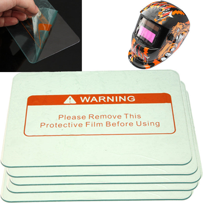 5pcs Clear Spare Welding Shield Cover Lens protect Plate 4.5'' x 3.5'' For Welding Helmet Mask