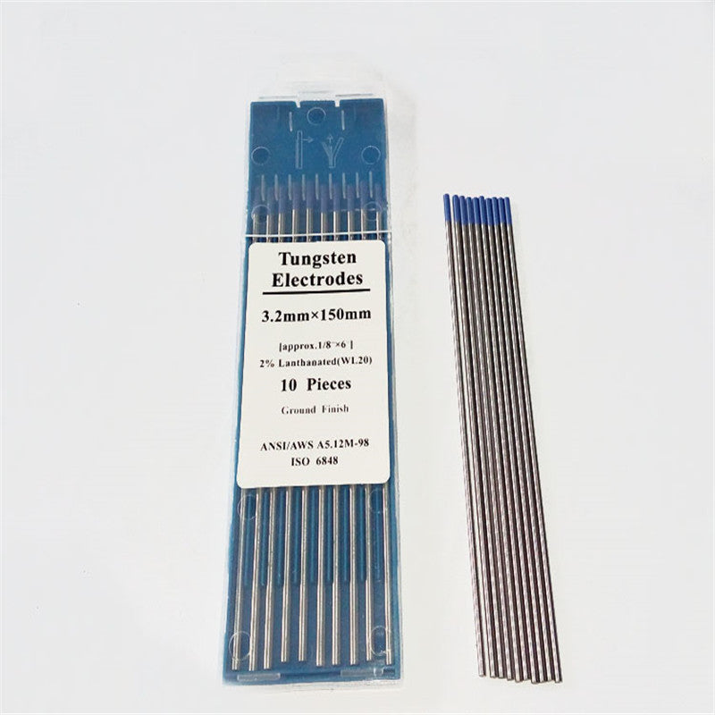 WL20 lanthanum tungsten Blue tungsten electrode for tig welding torch argon arc welding machine